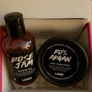 Lush conditioner and shower gel. Brand new